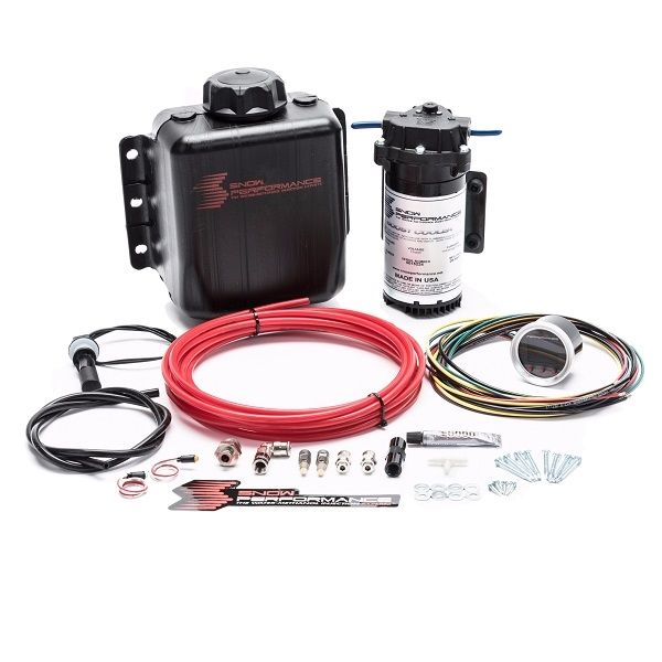 Snow Performance Stage 2.5 Boost Cooler Water / Methanol Injection Kit, Nylon or Braided