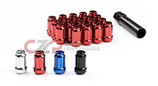 CZP M12x1.25mm Closed Lug Nut Set w/ Key