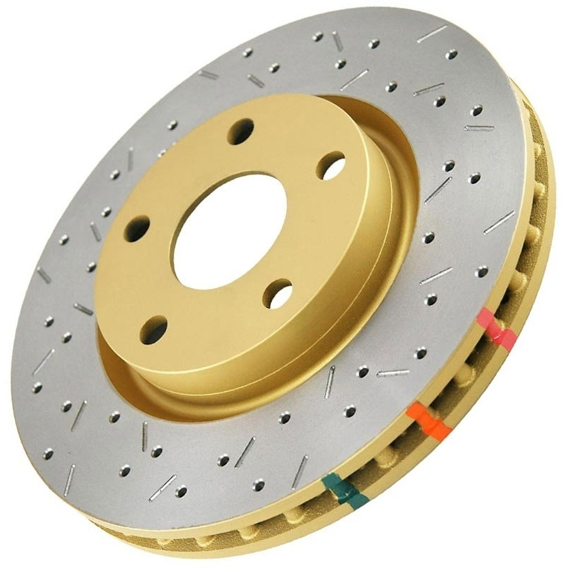 DBA 42308XS 4000 Series XS Premium Drilled/Slotted Rotors, Front G35 05-07 Cpe, 05-06 Sedan, 06 AWD