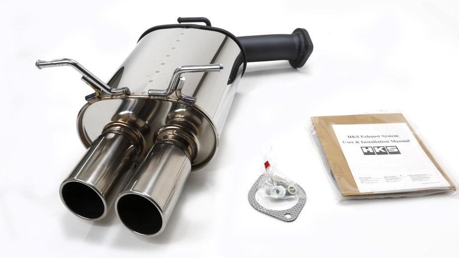 Hks Sport Rear Section Axle Back Exhaust Infiniti G35 Sedan 0306 V35: Manzo Exhaust G35 At Woreks.co