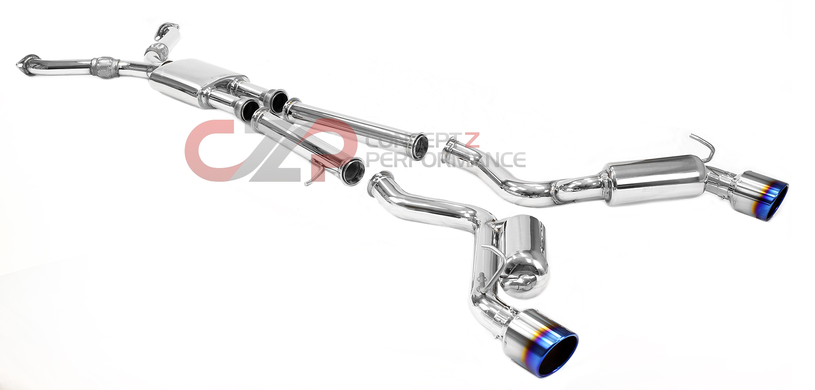 "Motordyne Shockwave TDX2 Catback Exhaust System, 2.5"" or 3"" Turbo - Infiniti G35 Coupe"