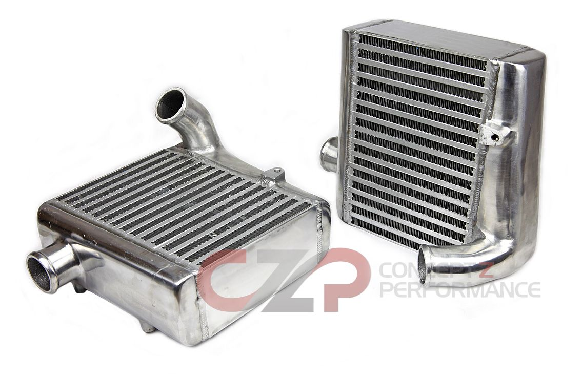 Godspeed Side Mount Intercooler Set - Nissan 300ZX 90-96 Twin Turbo TT Z32