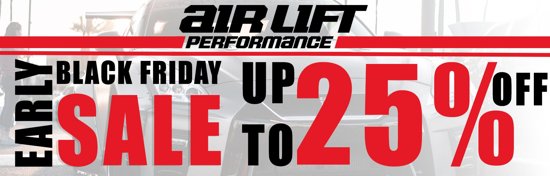 Air Lift Black Friday Sale