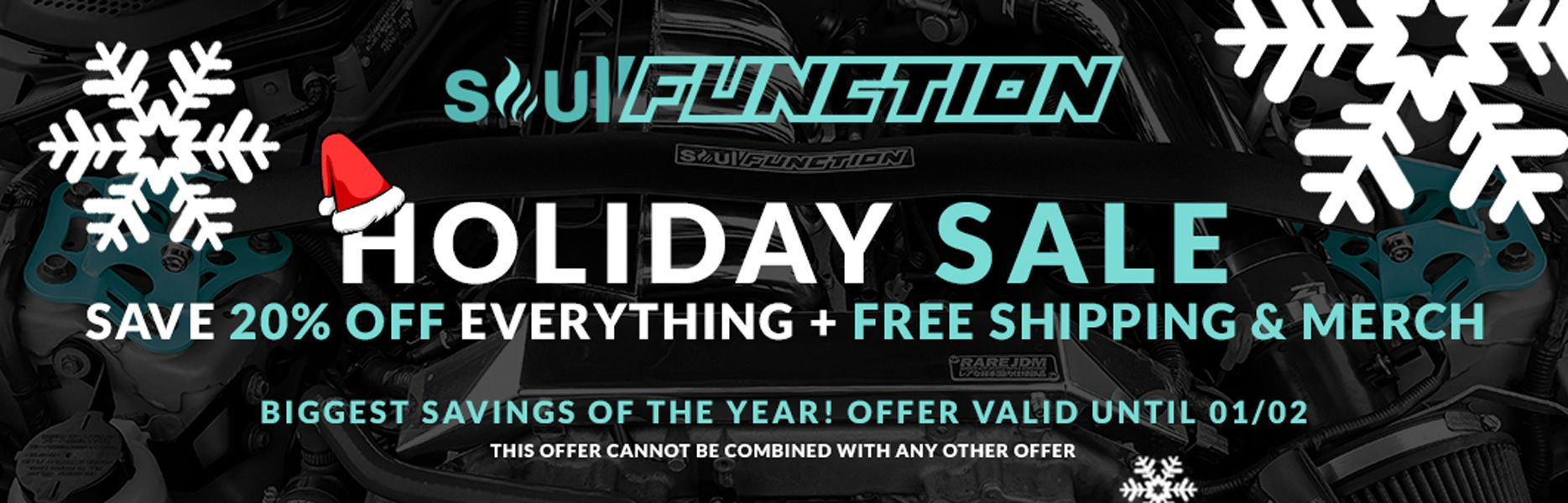 Soul Function Holiday Sale