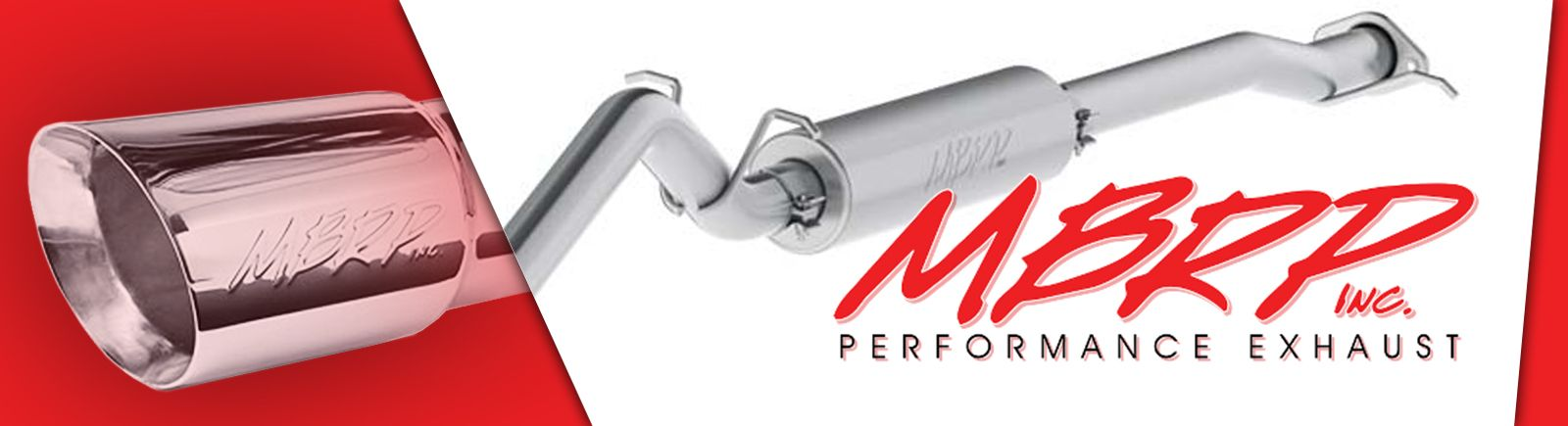 MBRP Exhaust AT-6502SP Sport Muffler Slip-On Combination Sport Muffler