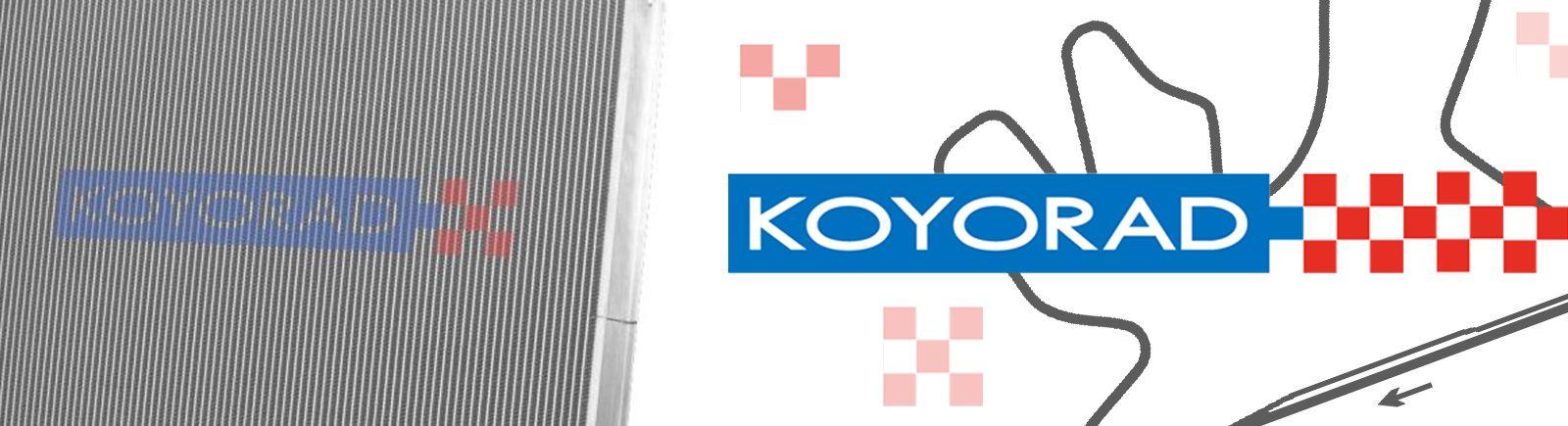 Koyo HH021568 HH Series Racing Radiator for 03-06 Nissan 350Z Z33